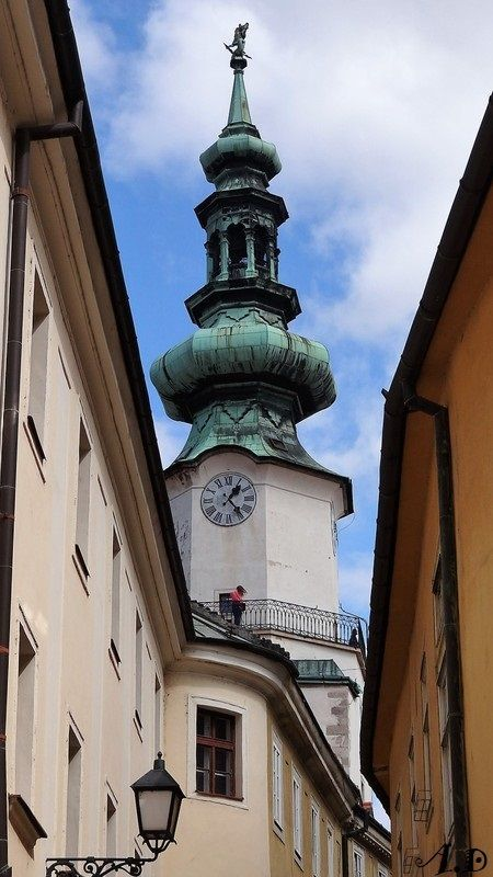 Bratislava la porte st michel for Porte unie st michel